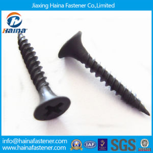 High Hardness Strength DIN 7505 Black Drywall Screw pictures & photos