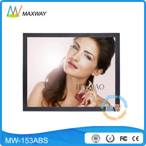 15 Inch LCD Advertising Display Player with USB SD Card (MW-153ABS) pictures & photos