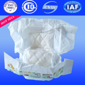 2017 New Product Breathable Disposable Baby Cloth Diaper with Super Absorption pictures & photos