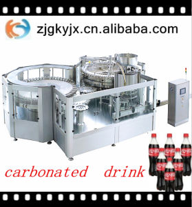 Automatic 2016 New Type Carbonated Soft Drink Filling Machine pictures & photos