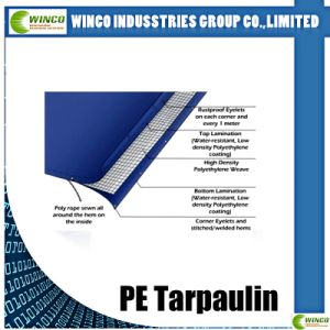 45GSM-280GSM China PE Tarpaulin with UV Treated for Car /Truck / Boat Cover pictures & photos