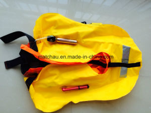 Ce Approved Double Air Chamber Inflatable Lifesaving Jacket Equipment pictures & photos