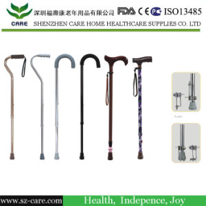 Rehabilitation Therapy Supplies Foldable Walking Stick Cane pictures & photos