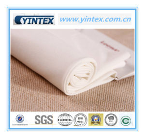 Hot Sale Smoothly White 100% Polyester Fabric pictures & photos