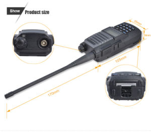 Dual Band Cheap Radio Lt-323 VHF/UHF Walkie Talkie pictures & photos