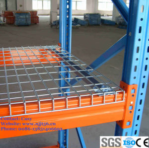 Hengtuo Heavy Duty Galvanized Wire Mesh Decking for Warehouse Rack pictures & photos