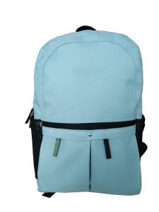 Single Color Polyster Backpack, Fashion Bags