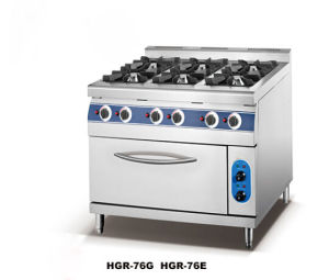 Top Quality Gas Range with Cabinet (HGR-76G) pictures & photos