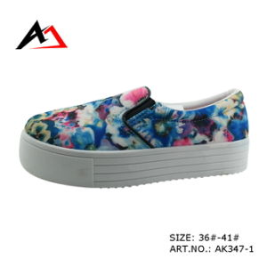Injection Molding Shoes Printing Platform for Women (AK347) pictures & photos