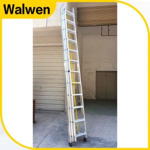 3 Parts Multi-Purpose Extension Aluminum Ladder pictures & photos