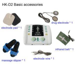 Wholesale Acupuncture Electronic Pulse Massager with Heating Funciton pictures & photos