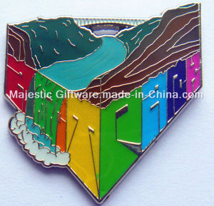 Customized Zinc Die Cast Soft Enamel Badge pictures & photos