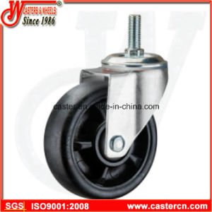 5 Inch Threaded Stem Nylon Swivel Caster pictures & photos