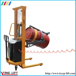 Pneumatia Lifting and Rotating Drum Rotator with 300kg Capacity Da300 pictures & photos