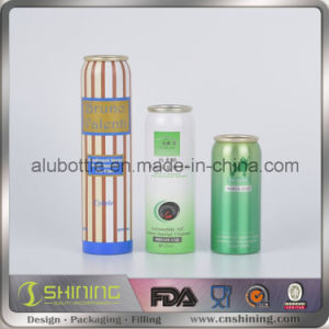 Aluminum Cosmetic Aerosol Can