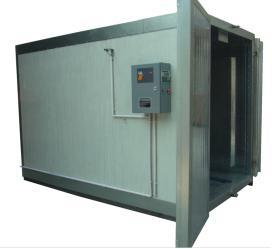 Gas /LPG /Diesel Batch Powder Curing Oven pictures & photos