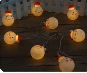 New LED String Light with Snowman Cover, Christmas Light pictures & photos
