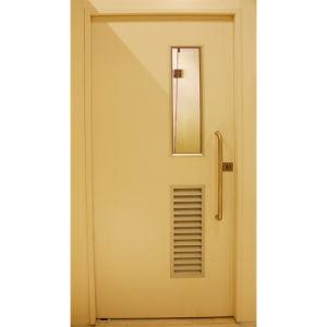 Steel Hospital Bathroom Door with Air Vent