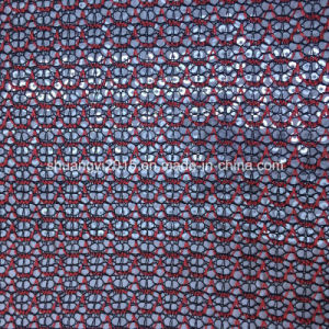 Fashion Sequin Fabric for Ladies Shoes pictures & photos