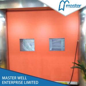 Wuxi Industrial Entry Zipper Type High Speed Door pictures & photos