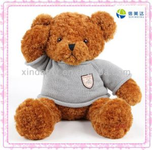 Knitted Sweater Plush Teddy Bear pictures & photos