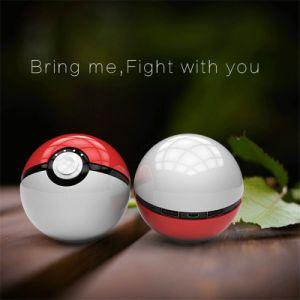 Ept New Product Pokeball Toy Funny Power Bank 12000 mAh Pokemon Go Magic Ball LED Light pictures & photos