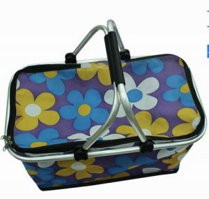 Portable Shopping Basket/Foldable Picnic Basket pictures & photos