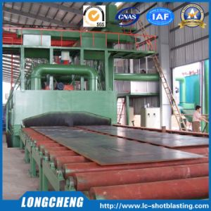 Roller Conveyor Automatic Cleaning Machine by Shot Blasting