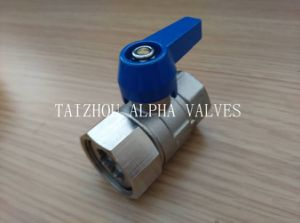 Brass Forged Female Full Bore Ball Valve (a. 8001)