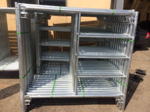 5FT X 5FT Frame Scaffolding Hot DIP Galvanized Hot Seller pictures & photos