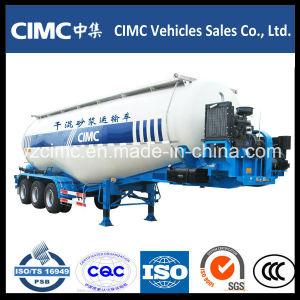 Cimc Tri-Axle Cement Bulker Trailer / Bulk Cement Trailer/ Cement Tanker pictures & photos