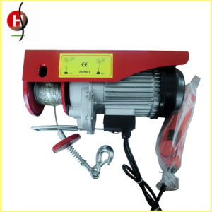 Mini Electric Wire Rope Hoist Lifting Equipment pictures & photos