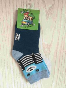 Quarter Cotton Cartoon Small Size Baby Socks (JMBABY-S) pictures & photos