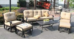 Cozy Swivel&Glider Sofa Group Outdoor Furniture pictures & photos