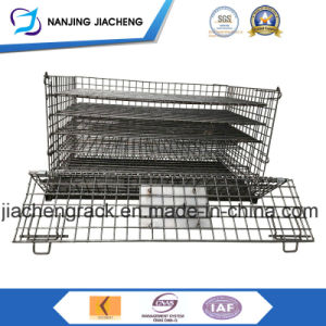 Collapsible Galvanized Wire Mesh Container pictures & photos