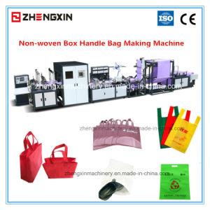 Non Woven Die Cut Handle Bag Making Machine (ZXL-E700) pictures & photos