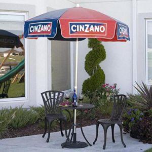 6FT Cinzano Vinyl Beach Umbrella pictures & photos