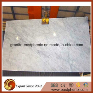 Italy Cararra White Marbel Slab for Countertop/Vanity Top pictures & photos