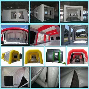 Portable Car Painting Room, Mobile Spray Tent Spray Booth pictures & photos