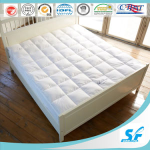 7D Culster Hollow Fiber Filling Mattress Topper for International Hotel pictures & photos