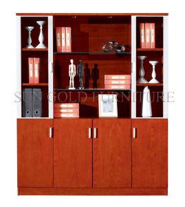 Wooden Storage Cabinet Document Cabinet Shelf (SZ-FCT608) pictures & photos