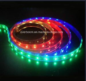 60LED/M SMD3528 RGB Flexible LED Strip Lighting with Ce RoHS for Lighting Decoration (ST3528-6002) pictures & photos