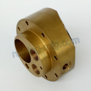 OEM CNC Turning Machining Brass Body for Industrial Equipment pictures & photos