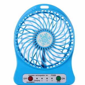 2016 Multi-Function Third Gear Rechargeable LED Mini Fan