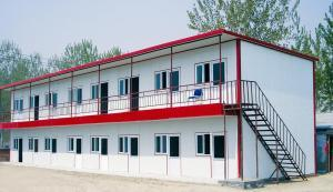 Nigeria Two Story Prefab Labour Campus Temporary House Prefab House for Working and Living pictures & photos