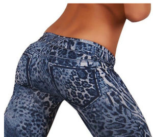 Fast Delivery Sexy Girls′ Printed Leggings (20231-1) pictures & photos
