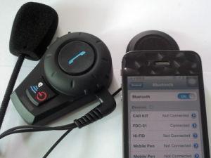 Mini Portable Media Player Bluetooth Intercom Interphone for Helmet pictures & photos