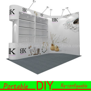 Custom Create Stunning Jewelry Portable Fexible Modular Exhibition Stand pictures & photos
