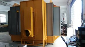 Channel Type Powder Coating Spray Booth pictures & photos