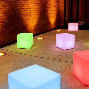 Outdoor Decoration Table Furniture LED Light Cube (Ldx-C03)